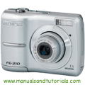 Olympus FE-210 Manual And User Guide PDF