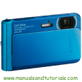 Sony DSC-TX30 Manual And User Guide PDF
