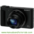 Sony DSC-HX90 Manual And User Guide PDF