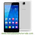 Honor 3C Manual And User Guide PDF
