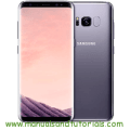 Samsung Galaxy S8 Manual And User Guide PDF
