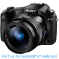 Sony DSC RX10 Manual And User Guide PDF