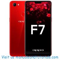 Oppo F7 Manual And User Guide PDF