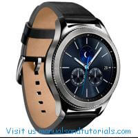 Samsung Gear S3 Manual And User Guide PDF
