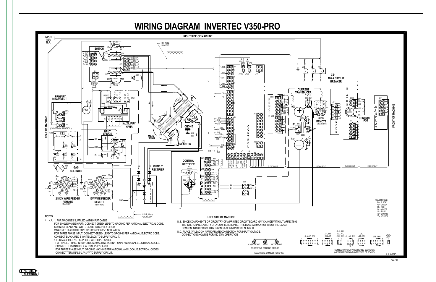Wiring Diagram Invertec V350-pro, Electrical Diagrams