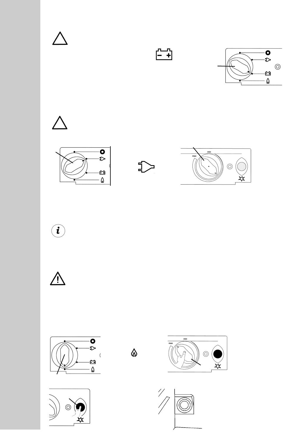 Electrolux Rm Be Nungsanleitung