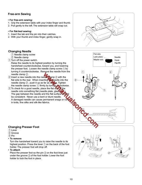 Kenmore Sewing Machine Manual 38515516000