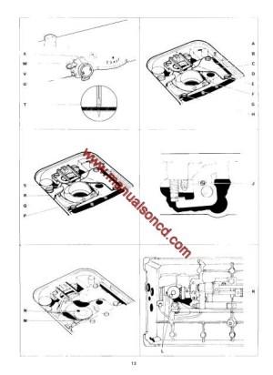 Singer 500 Sewing Machine Service Manual 518, 538, 513