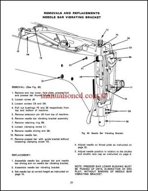 Singer 237 Sewing Machine Service Manual Download