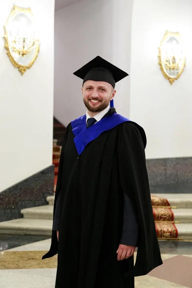 Вручение дипломов в Кремле