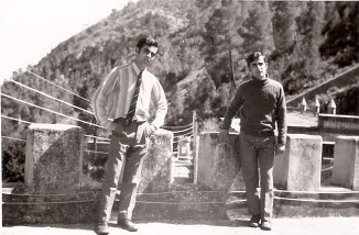 Los hermanos García Muñoz en el Polvorín de Génova en 1968.