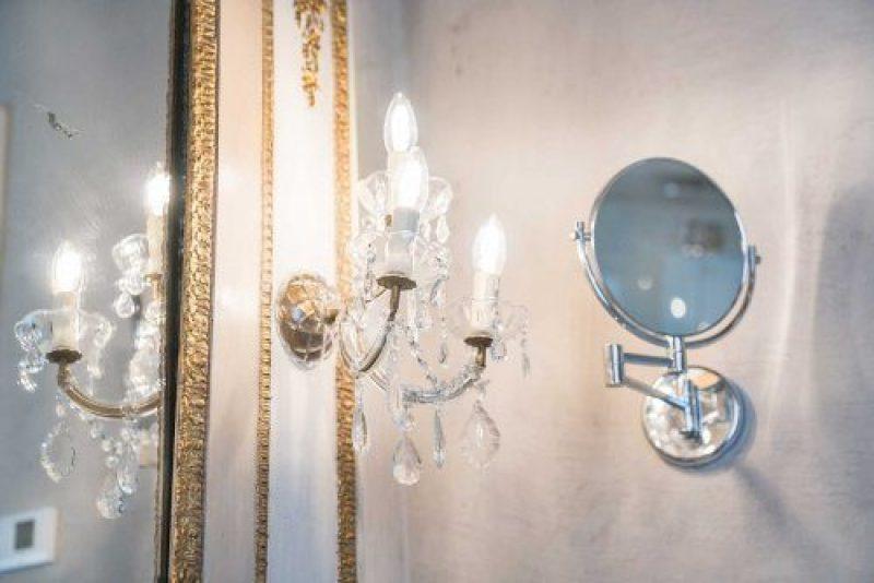 Bagno della Suite Isabel della Regia Rosetta Royal Rooms