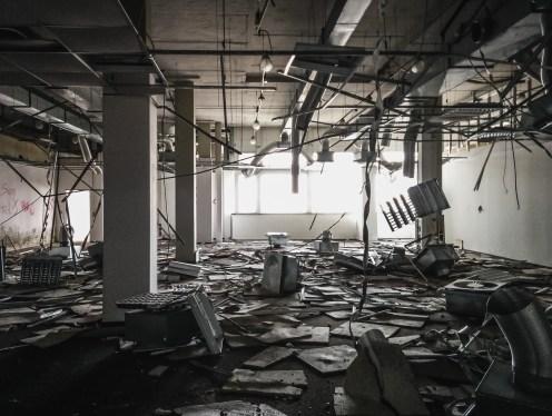 Lost Place Telekommunikationsgebäude
