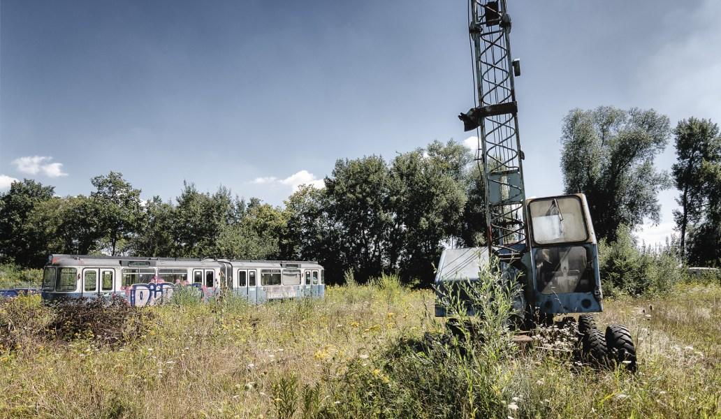 Lost Place Tramfriedhof