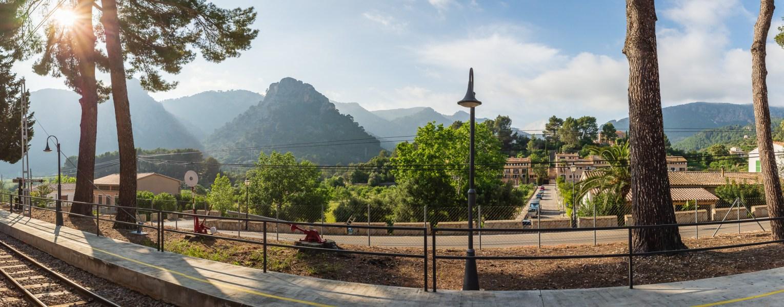 Bahnhof Bunyola Mallorca