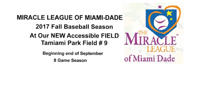 Miracle League of Miami-Dade – MCBE