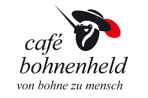 Logoentwurf Café Bohnenheld