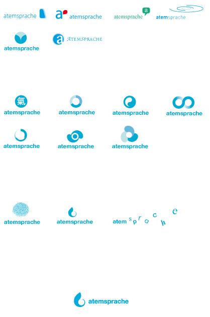 Entstehungsprozess des Logos für das Corporate Design