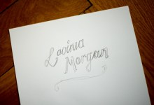 Illustration: Erste Skizzen für Lavinia Morgan