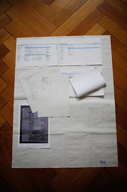 Analyse der Grundlagen und Skizzen