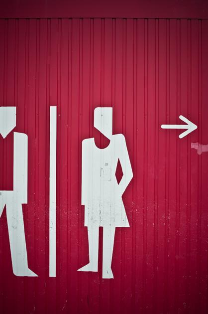 Toiletten-Bezeichnung