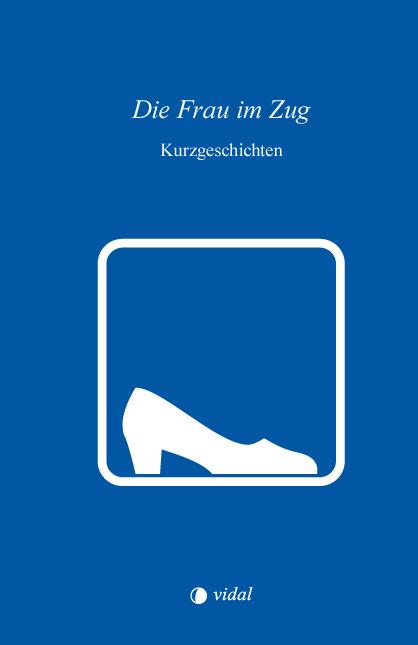 Die Frau im Zug – Cover mit piktografischem Frauenschuh