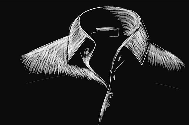 Reinillustration 2 – Kragen