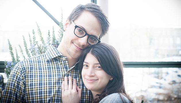 Fotoshooting für eine Hochzeitskarte – Beitragsbild