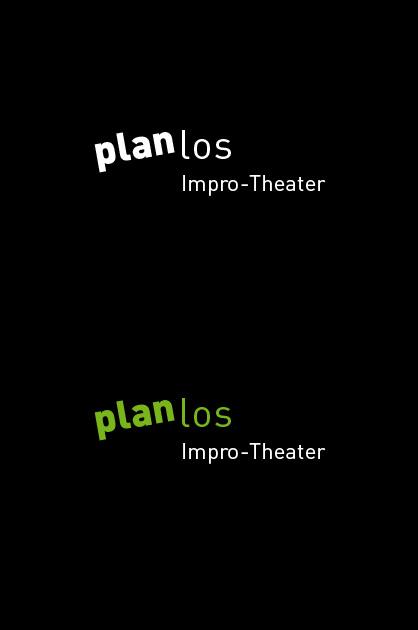 Finales Logo Planlos negative Anwendungen