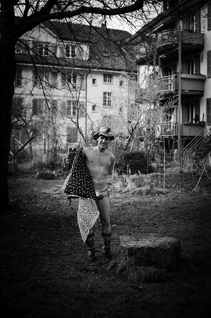 Foto-Shooting fürs Murifeldbuch mit Thomas Ursula Hostettler Hoschi
