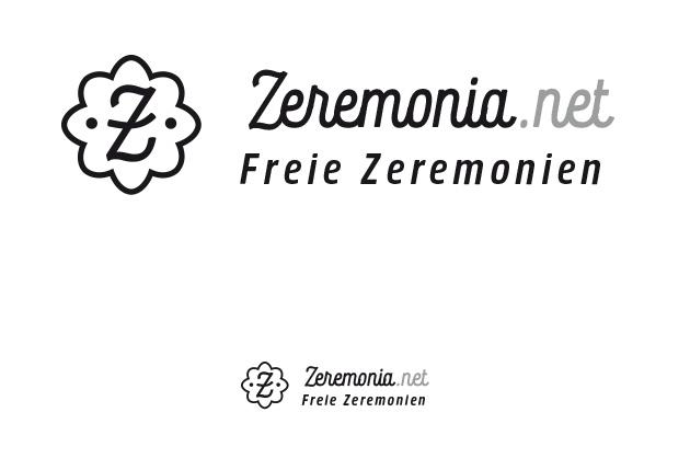 Logo Zeremonia.net, finaler Ansatz