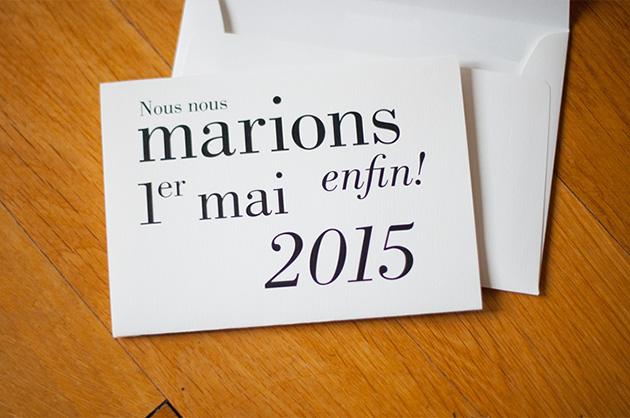 Typografische Umsetzung einer Hochzeitseinladung. Referenz aus dem Profil von manuele.ch auf zeremonia.net