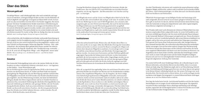 Theaterstück, Leporello A5, 6 Seiten, Seite 2