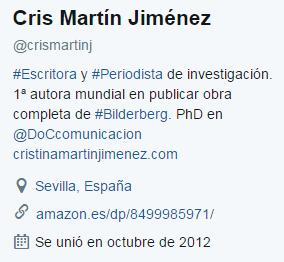 perfil twitter para escritores