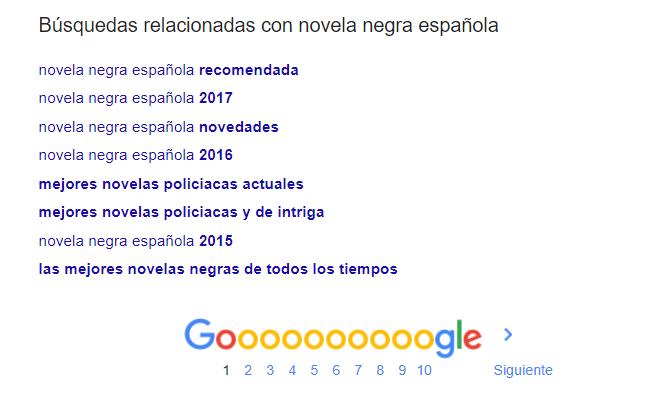 novela negra española Buscar con Google