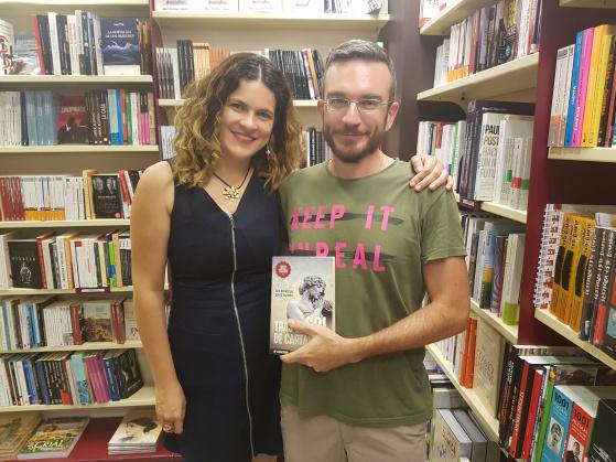 Ana Ballabriga y David Zaplana ganadores del Premio Literario Amazon 2016
