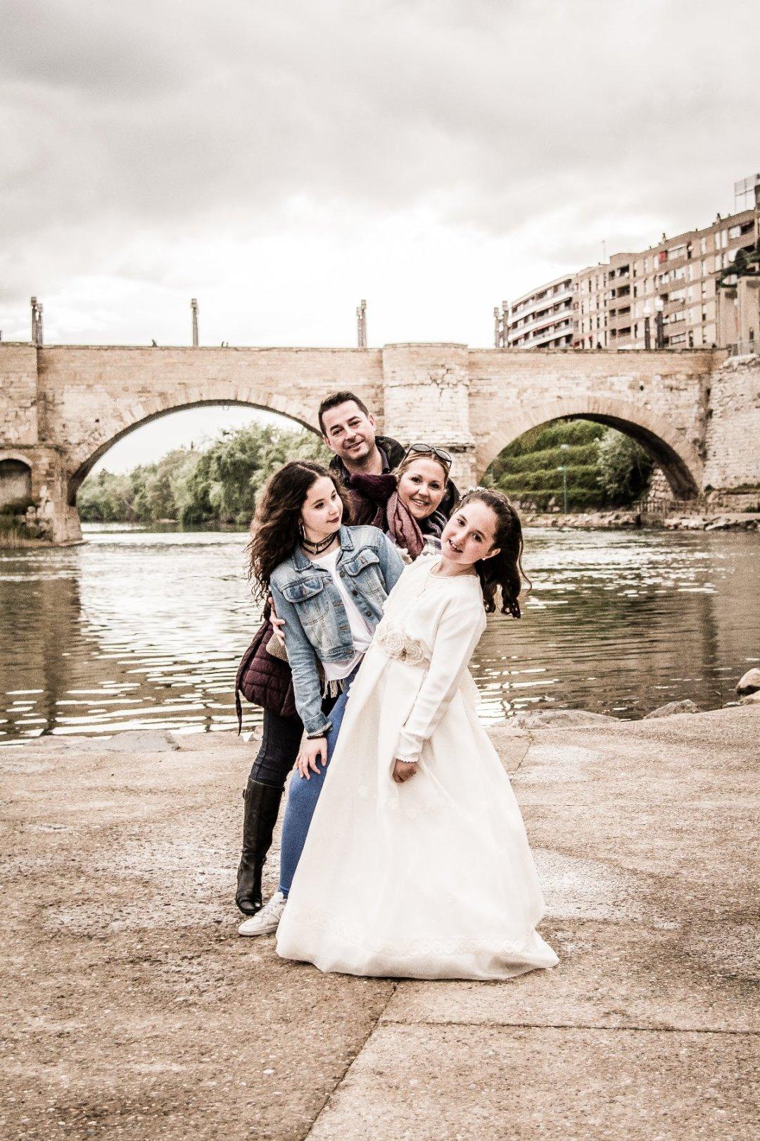 Reportaje de comunión el Parque Macanad + estudio en Zaragoza 2
