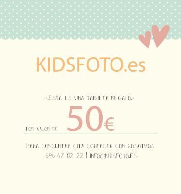 Tarjeta regalo valor 50€