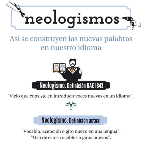 Así se crean los neologismos en castellano