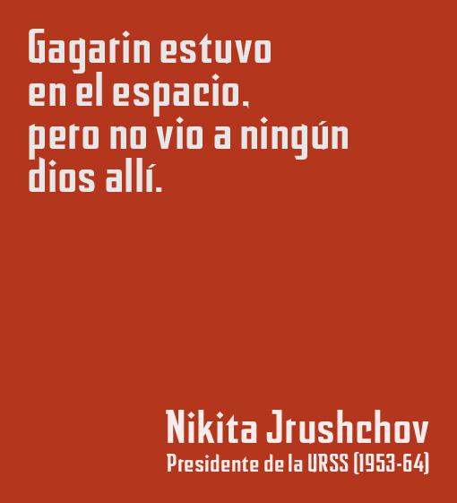 Frase de Nikita Jrushov