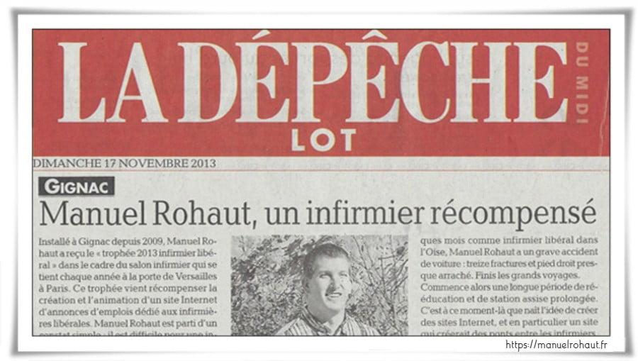 Manuel Rohaut - La Dépêche du Lot
