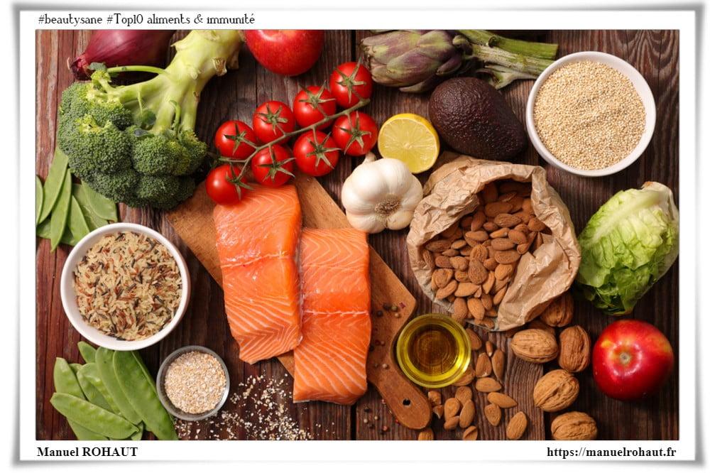 Beautysane - Energy diet - Top10 aliments qui boostent votre immunité - compléments alimentaires et nutritionnels bon pour la santé !