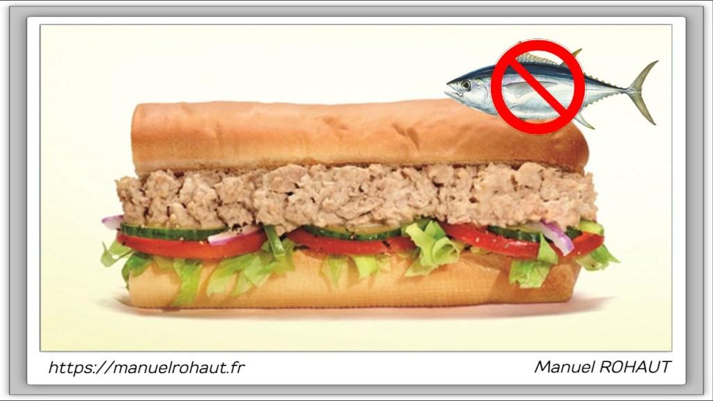 Alerte conso : Subway les sandwichs au thon ne contiendraient pas de thon ?