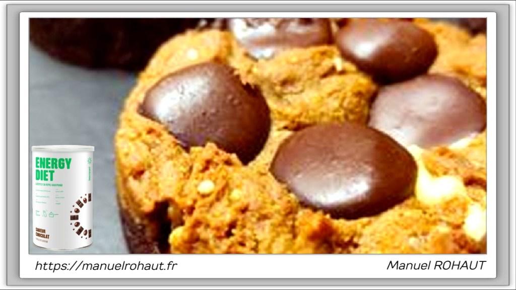 Recette healthy, saine, rapide et gourmande Beautysané© : brookie sans oeuf
