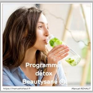 Guide programme détox Beautysané© pour adopter les bons réflexes face aux excès alimentaires (livre numérique de 12 pages)