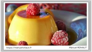 Recette Beautysane© délicieux flan au caramel healthy - Energy Diet Crème brûlée aux éclats de caramel