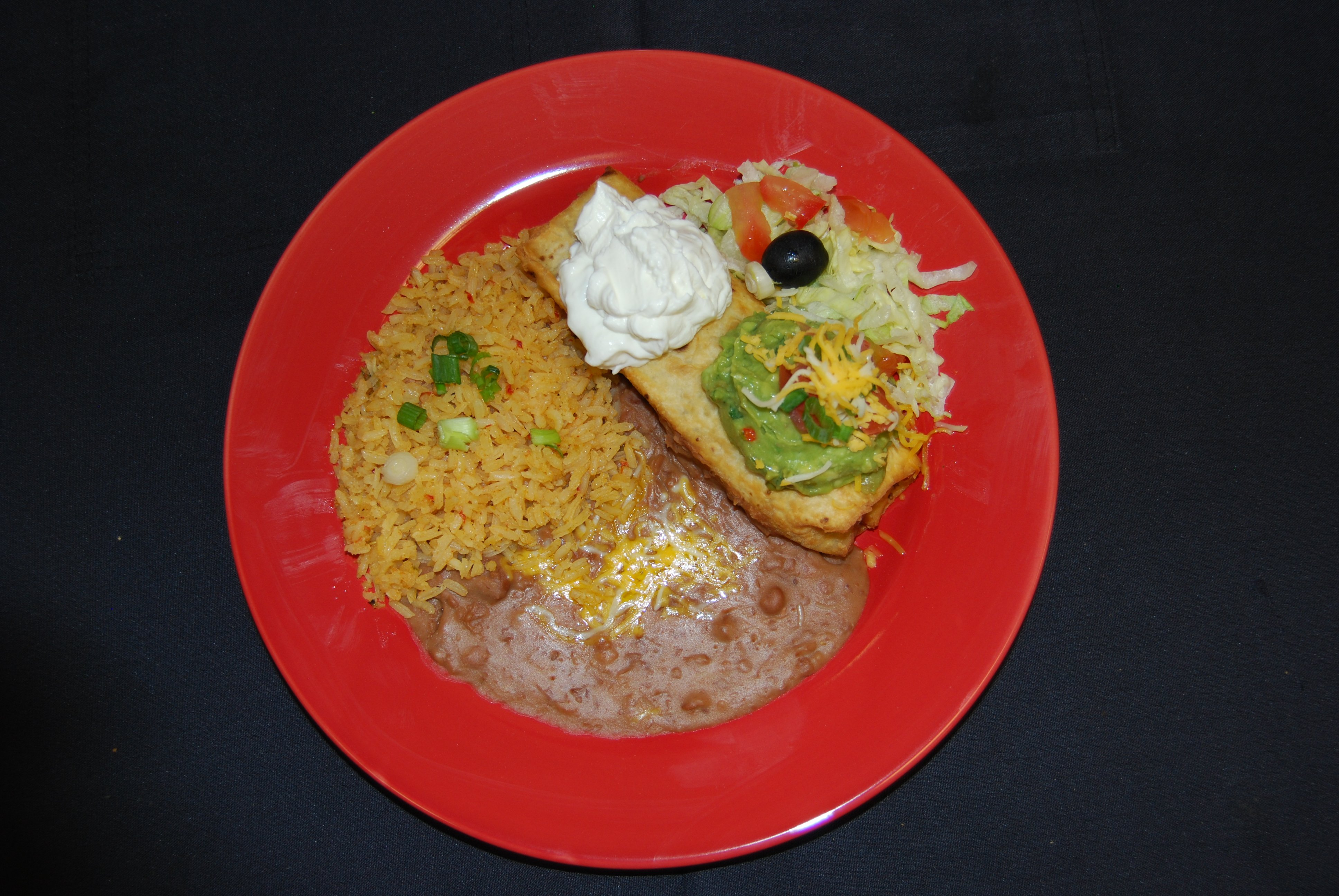 Lunch Special A - Chimichanga