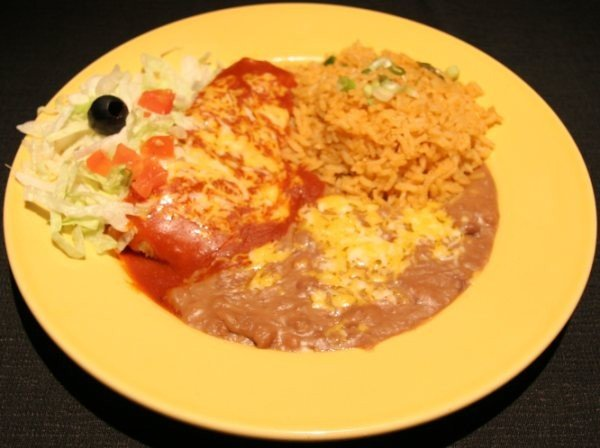 Lunch Special F - Tamale