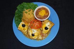 Pollo Espcial Dinner
