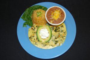 Seafood Enchilada Dinner